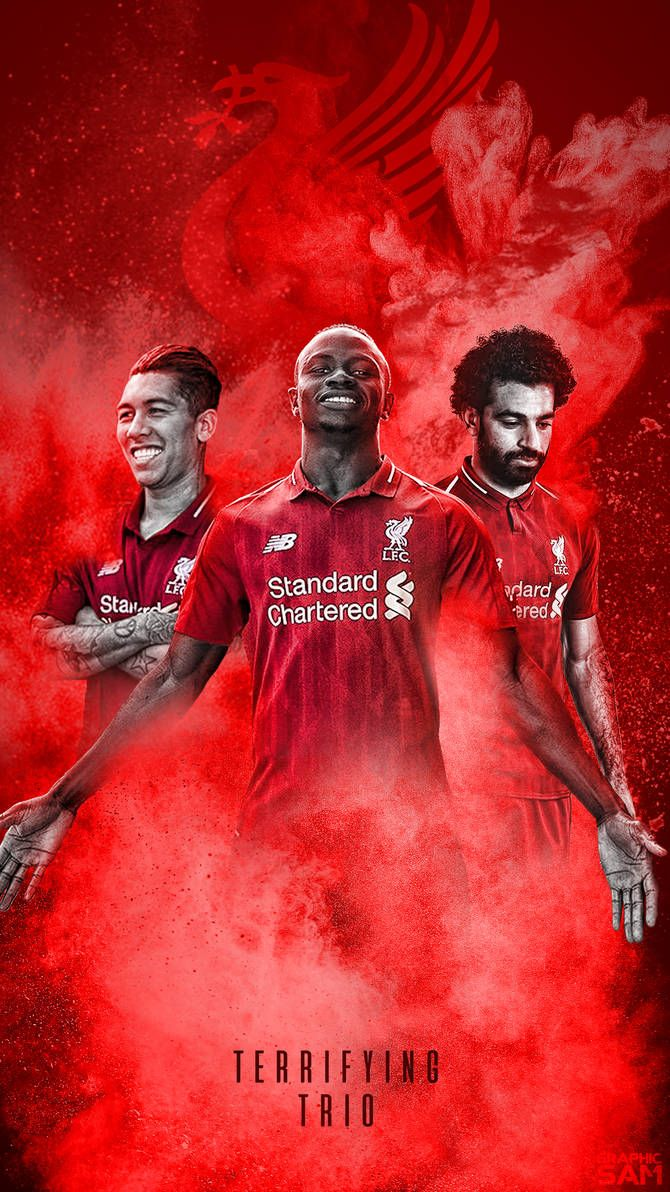 Liverpool Phone Wallpaper 20182019 by GraphicSamHD 670x1192
