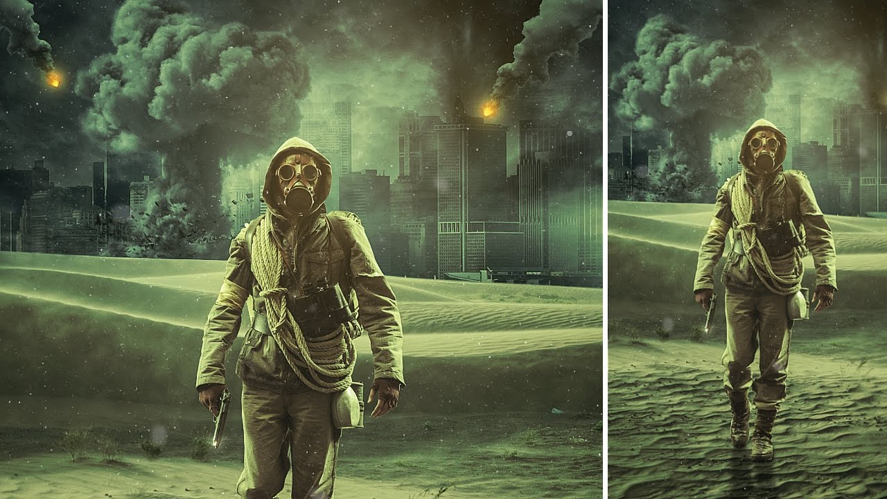 Photoshop Tutorial How to Create an Apocalypse Scene 1280x720