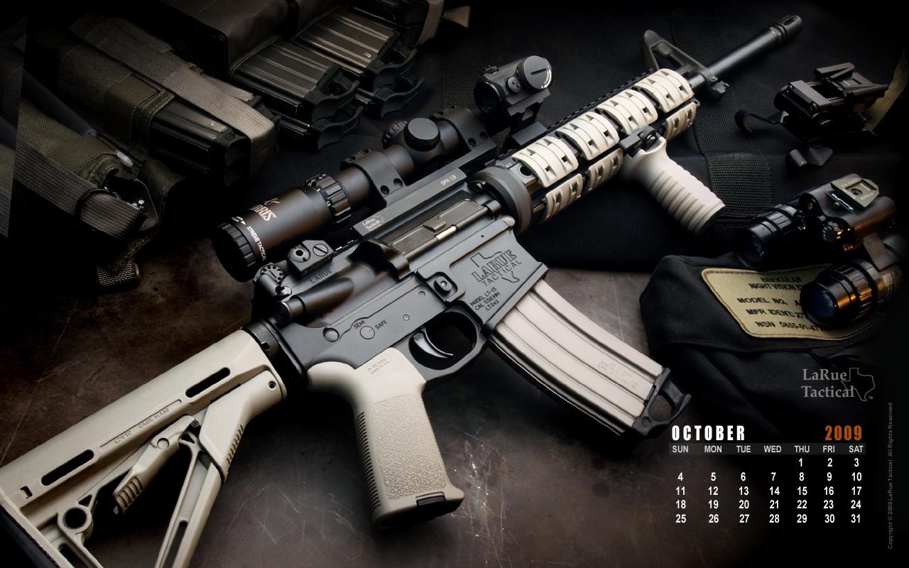 m16 gun wallpaper desktop - photo #4