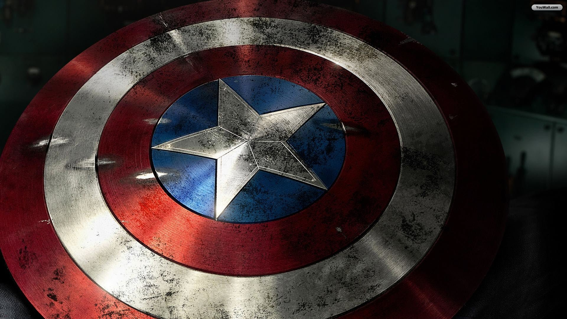 Captain America Shield Wallpaper   wallpaperwallpapersfree wallpaper 1920x1080
