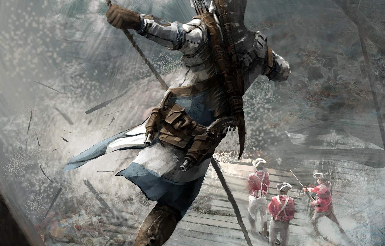 Free Download Wallpaper Ubisoft Game Connor Assassins Creed 3