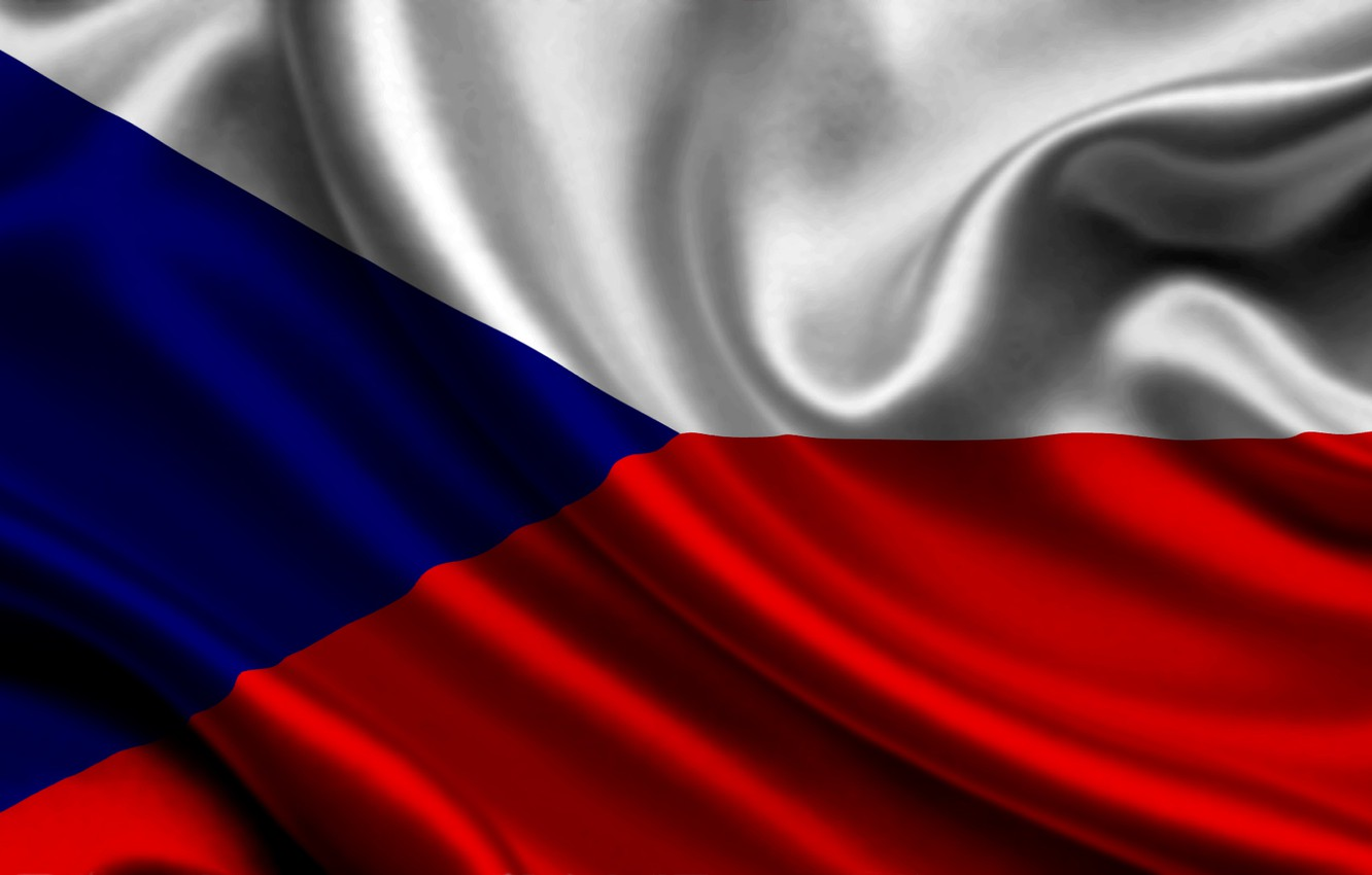 Wallpaper Red Blue White Czech Republic Flag Texture Flag 1332x850