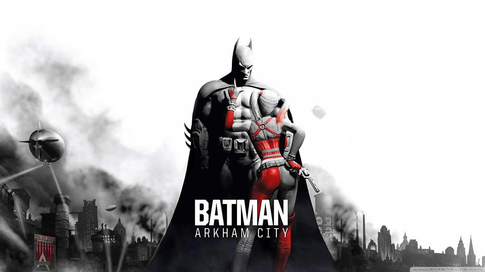 Freaking Spot Batman Arkham City Full HD 1080p Wallpapers 1600x900