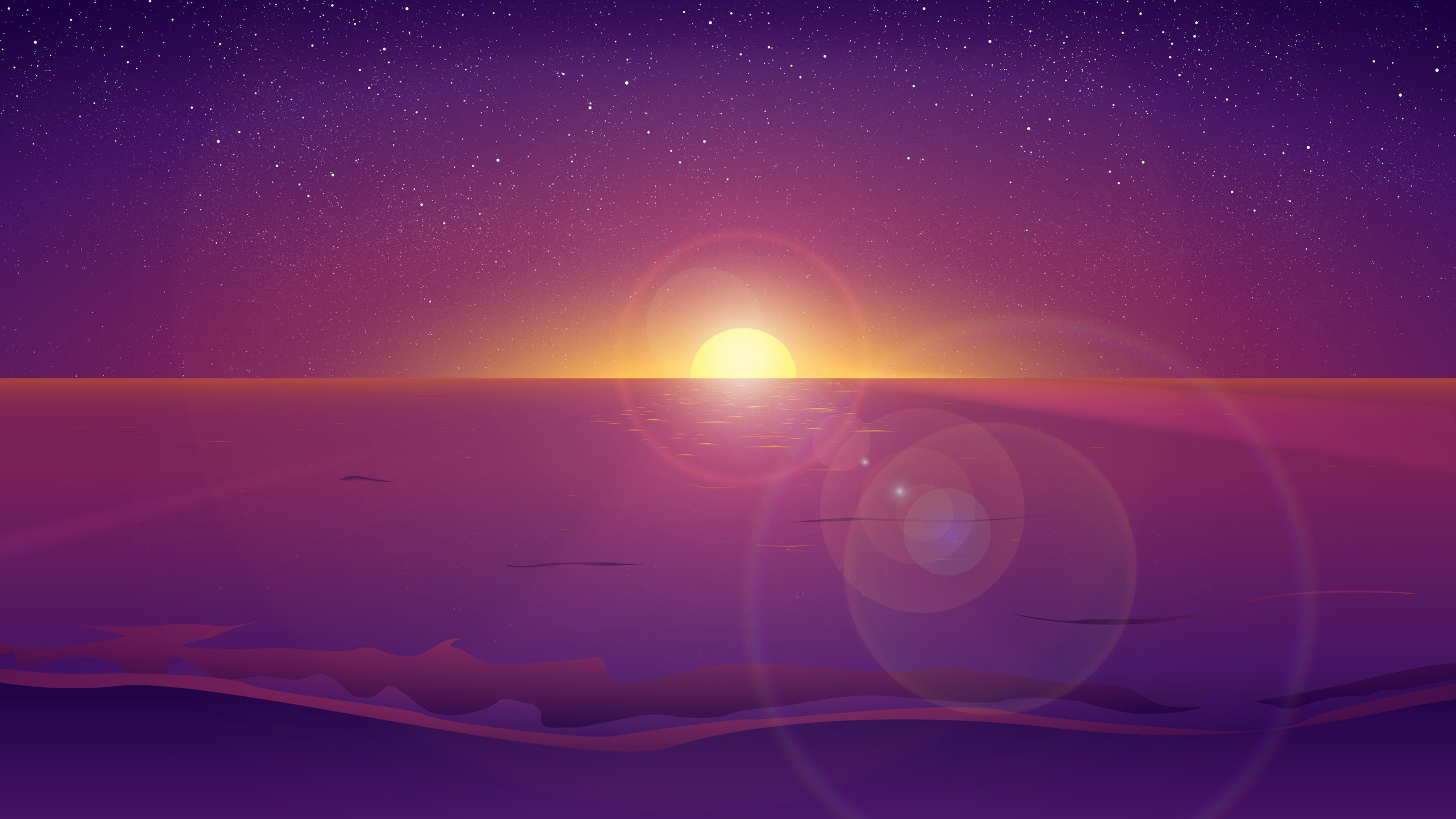 Youtube Channel Art Space 2560x1440 Calico shore 2560x1440 16x9 2560x1440