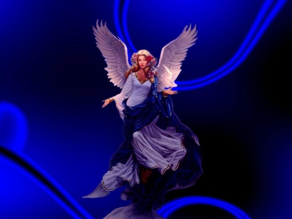 Blue Angel Wallpaper Blue Angel Desktop Background 1024x768