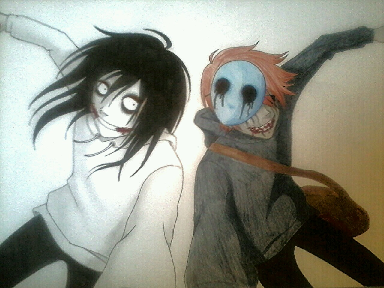 Eyeless Jack and Jeff the Killer   Eyeless Jack Wallpaper 1280x960