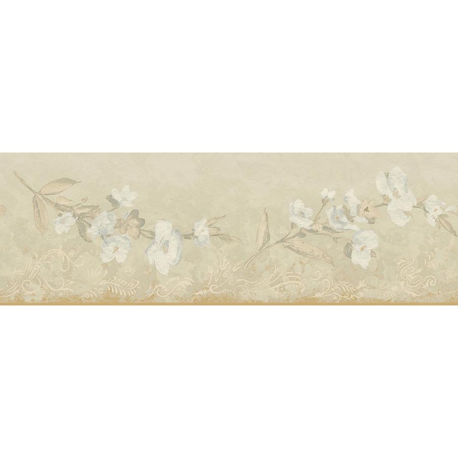 Transitional Blossom Prepasted Wallpaper Border at Lowescom 900x900