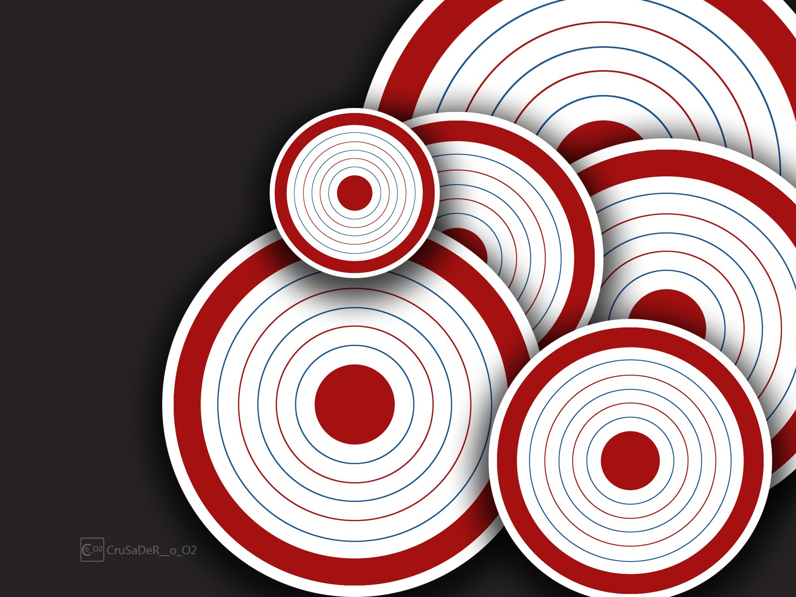 Abstract circles target wallpaper 1600x1200 199518 WallpaperUP 1600x1200