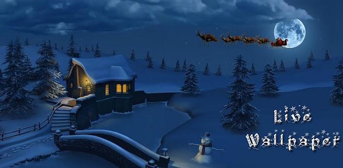 Best Christmas Live Wallpaper 705x345