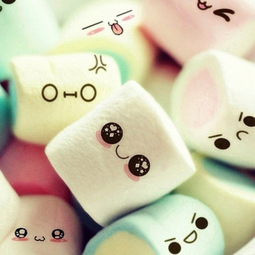 Cute Marshmallow Wallpapers