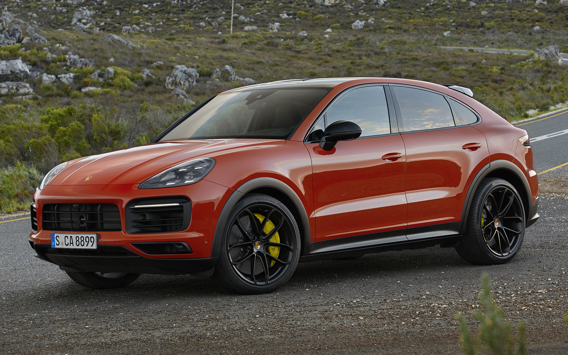2019 Porsche Cayenne Coupe SportDesign Package   Wallpapers and HD 1920x1200