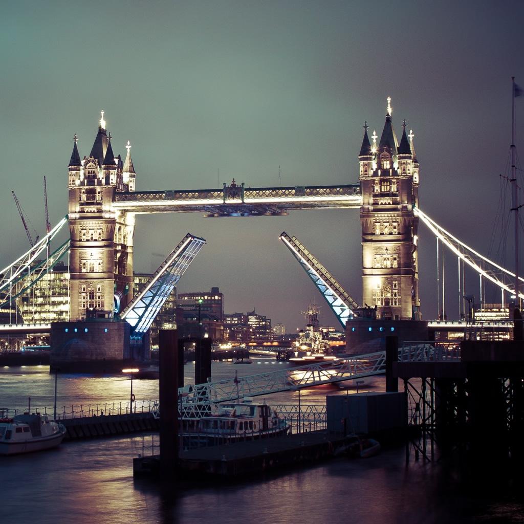 Tower Bridge Of London iPad Wallpaper Download iPhone Wallpapers 1024x1024