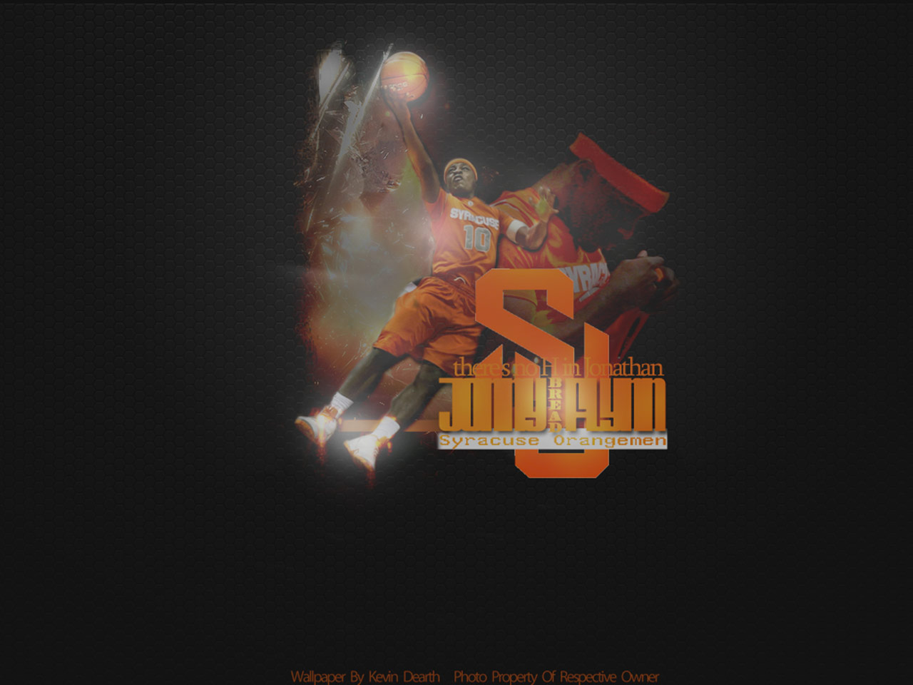 Jonny Flynn Syracuse Orange Wallpaper Basketball 1280x960