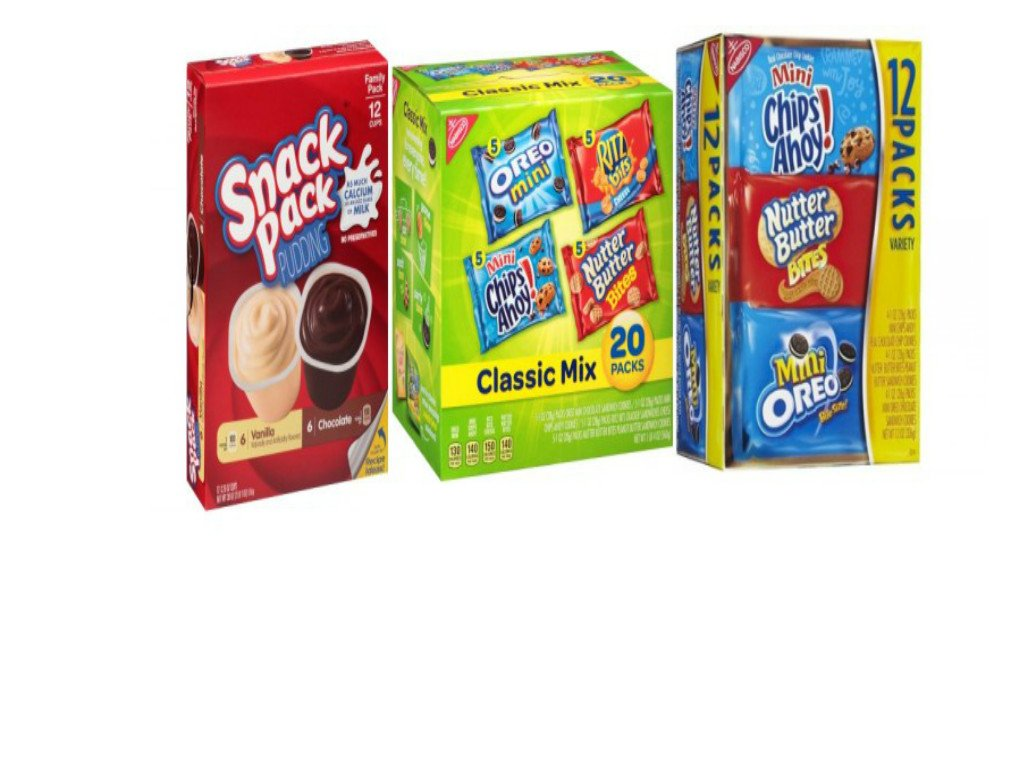 Amazoncom Nabisco Classic Mix Cookie Cracker Variety Pack 1024x768