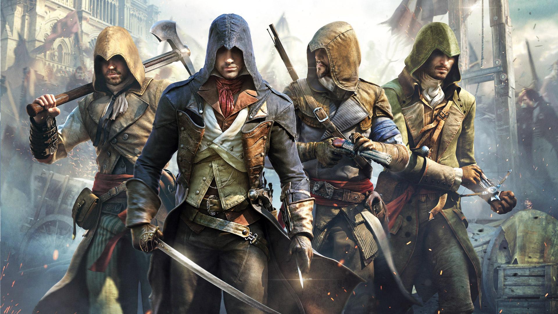 45 Assassin S Creed Unity Wallpaper 1080p On Wallpapersafari