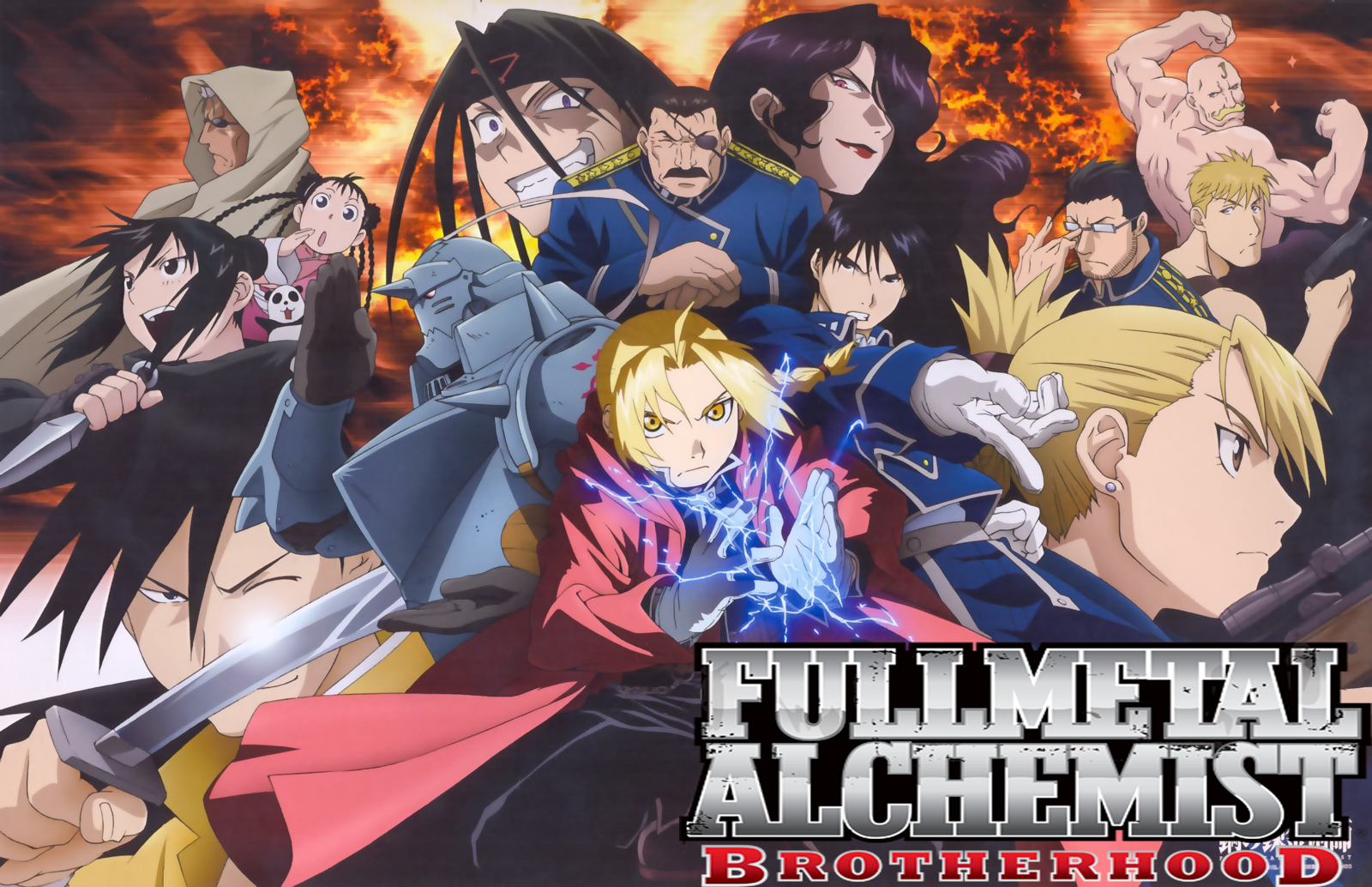 Fullmetal Alchemist Brotherhood 11 Background Wallpaper 1600x1034