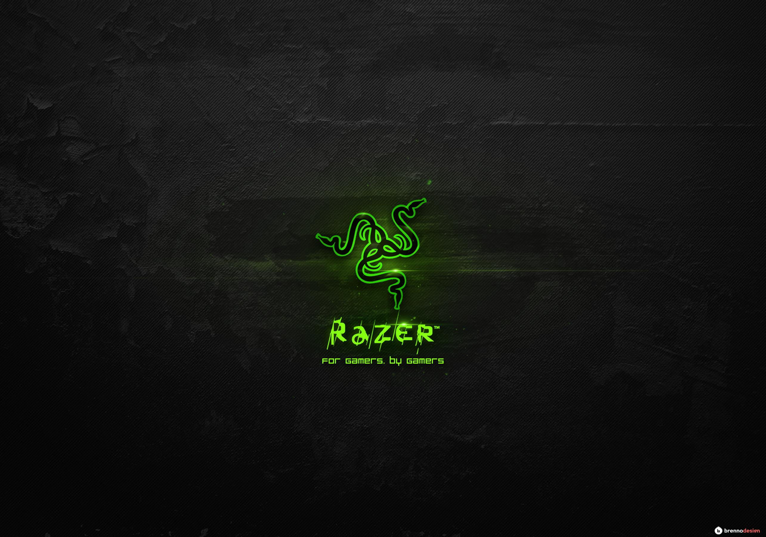 Preview Wallpaper Razer Logo Text 2560x1080 Pictures 2569x1801
