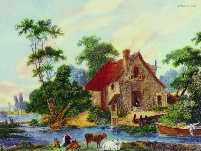 Oil Paintings Western Art Painting Landscape Wallpaper Pictures 640x480