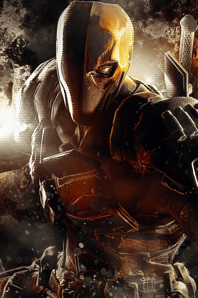 50 Deathstroke Iphone Wallpaper On Wallpapersafari