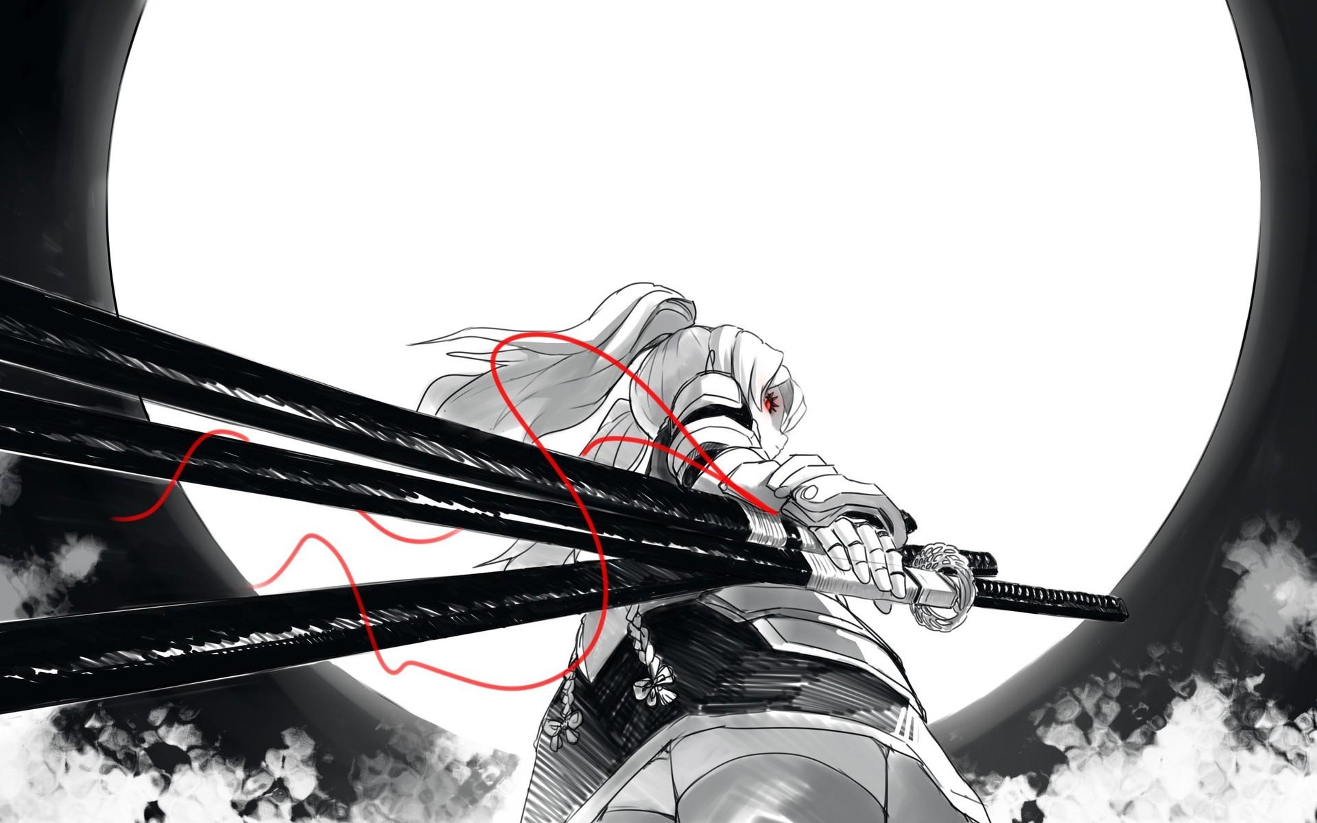 Samurai girl Wallpaper 5217 1920x1200