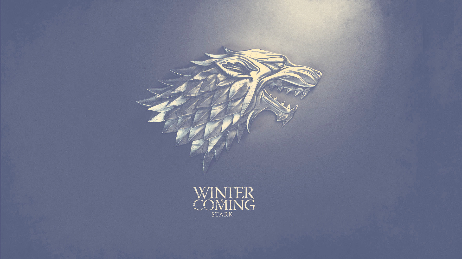 Winter is Coming Stark Nashville HD Wallpaper for TV 1920x1080