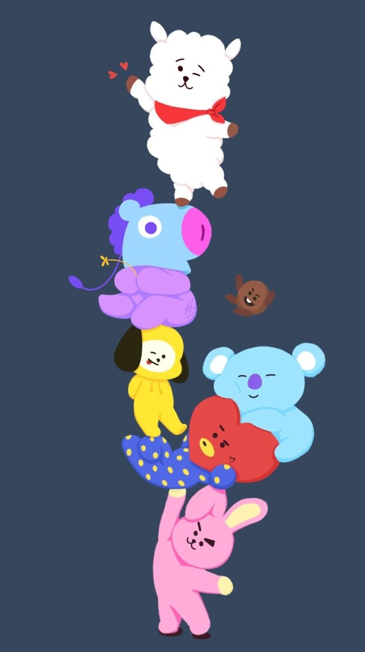 131 best BT21 images Bts wallpaper Bts 718x1280