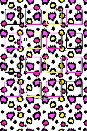 Colorful Cheetah   Home Screen Wallpaper Flickr   Photo Sharing 333x500