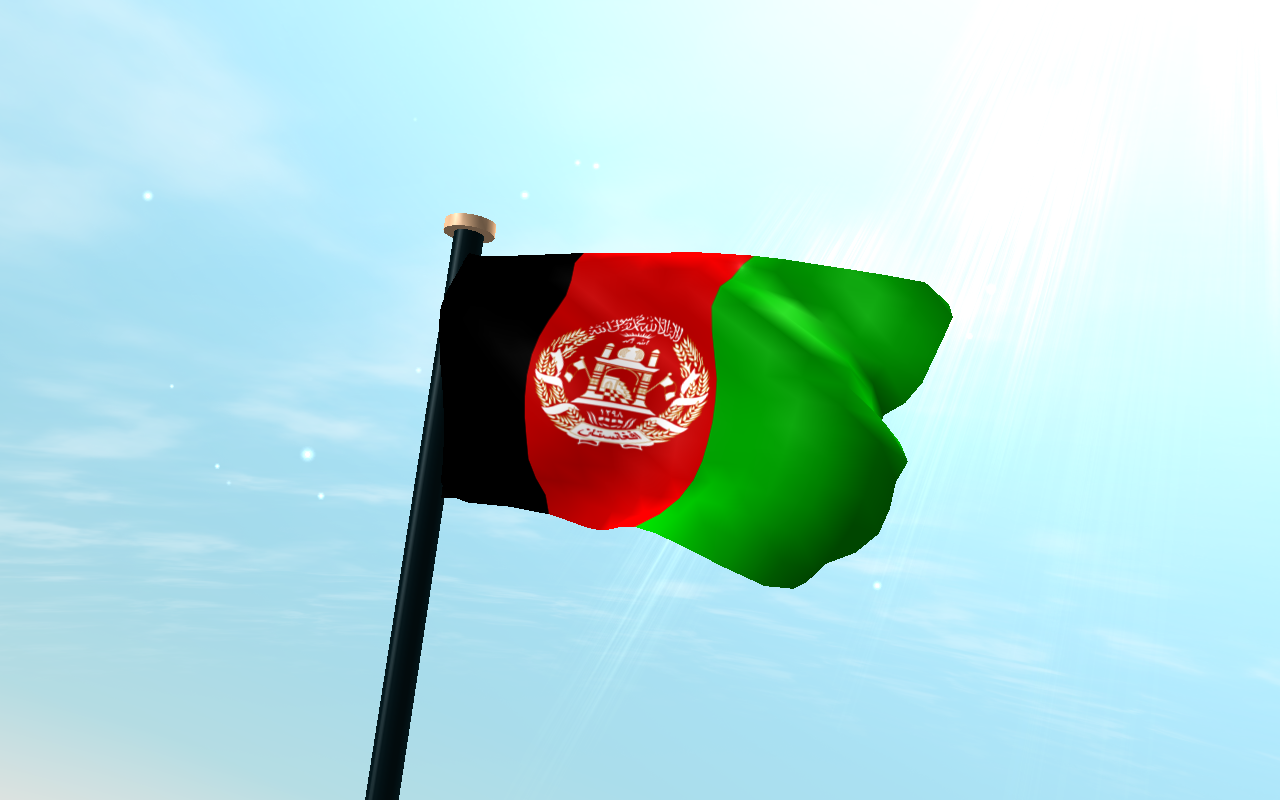 Afghanistan Flag 3D   Download Install Android Apps Cafe 1280x800