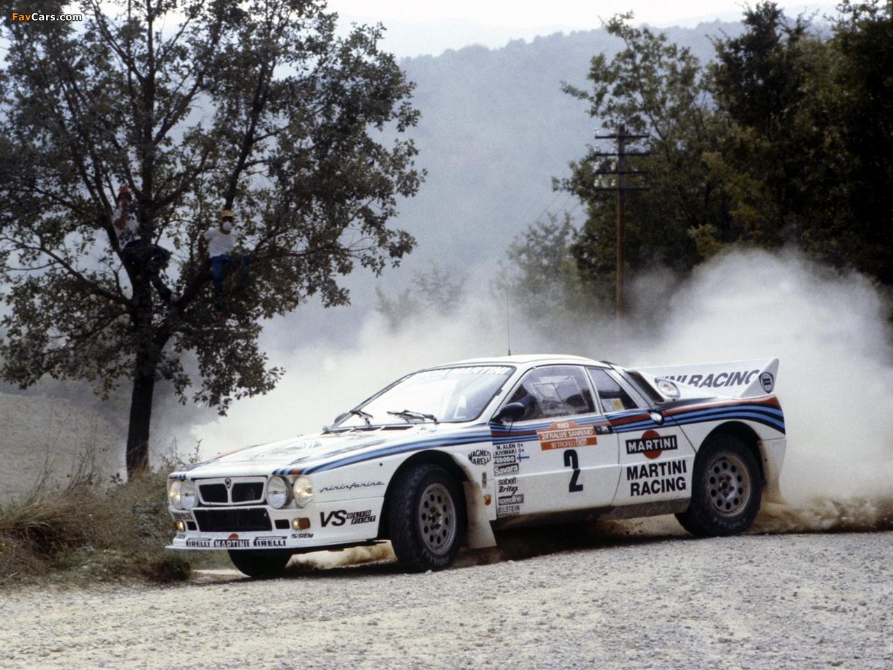Lancia 037 wallpaper Wallpaper Corners 1280x960