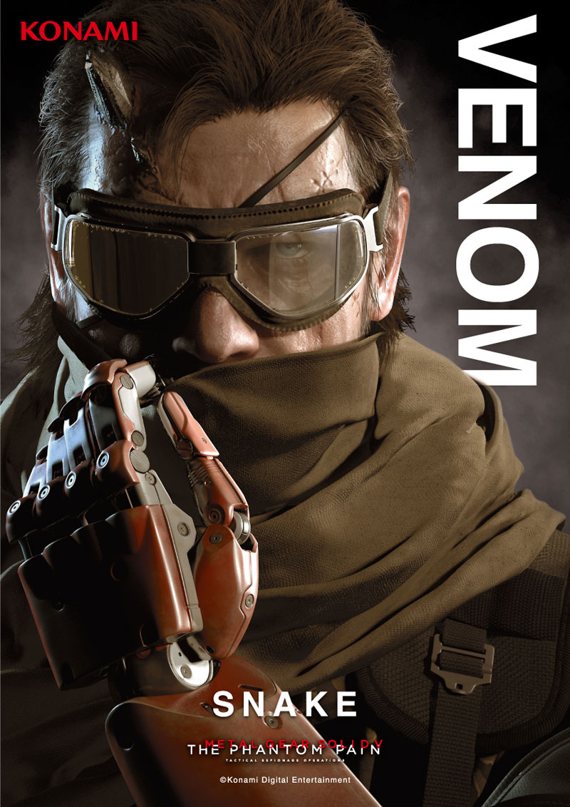MGSV The Phantom Pain Photos Making The Internet Rounds I just 800x1132