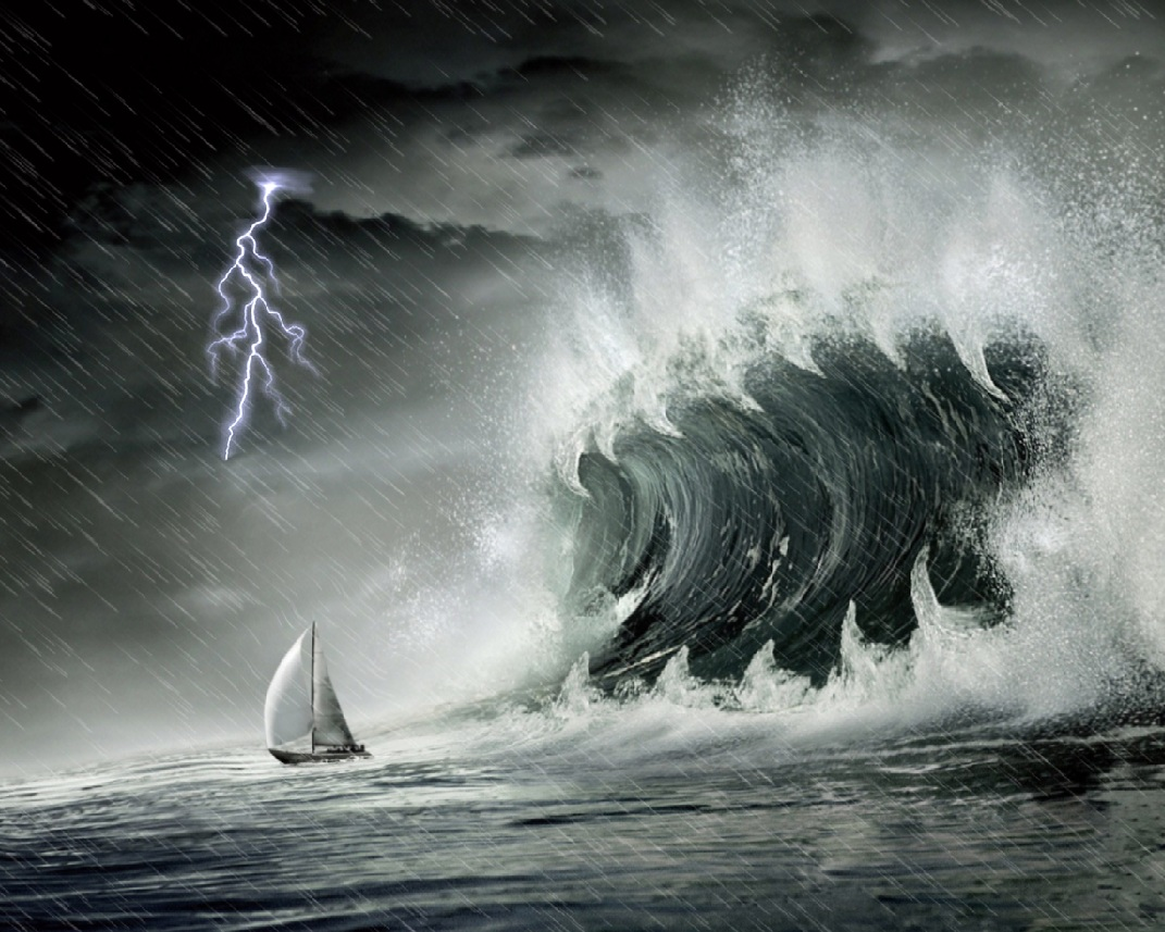 Download Ocean Storm Animated Wallpaper DesktopAnimatedcom 1071x857