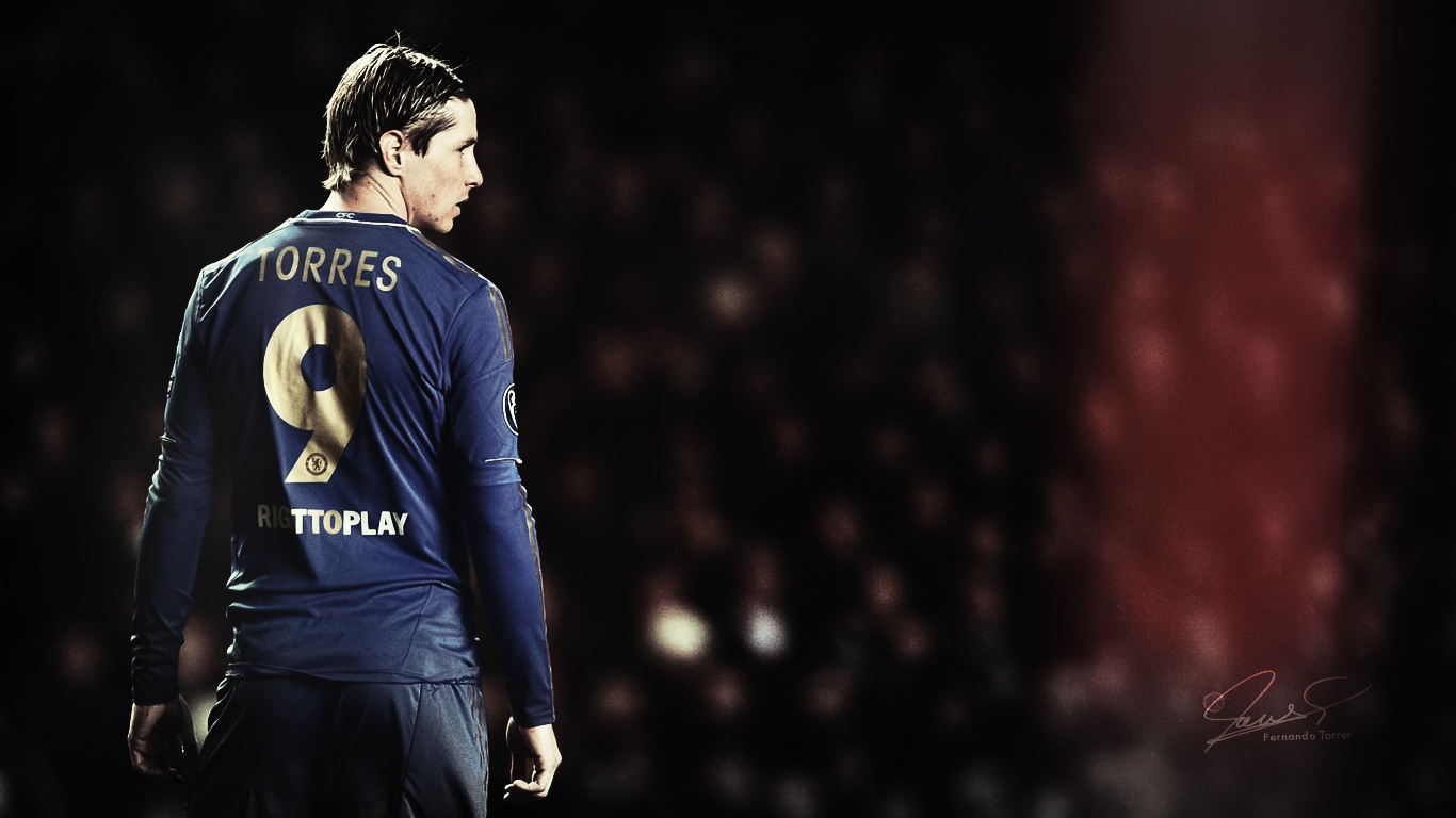 Fernando Torres Latest HD Wallpapers Only 2013 1366x768