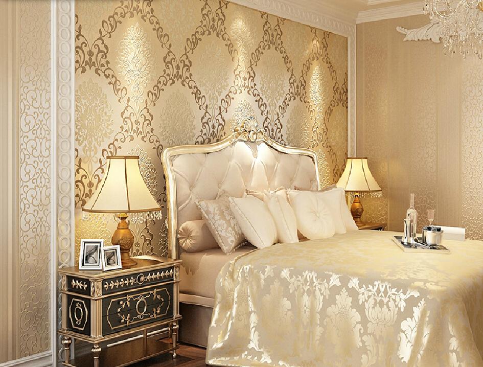 Free download Long fiber vintage wallpaper bedroom ...