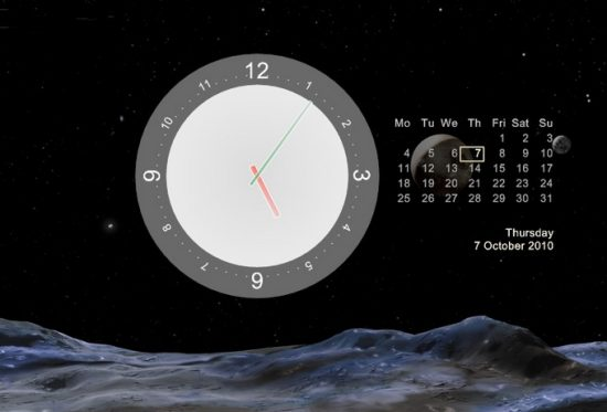Calendar Wallpaper With Clock : Free wallpaper clocks and calendars wallpapersafari