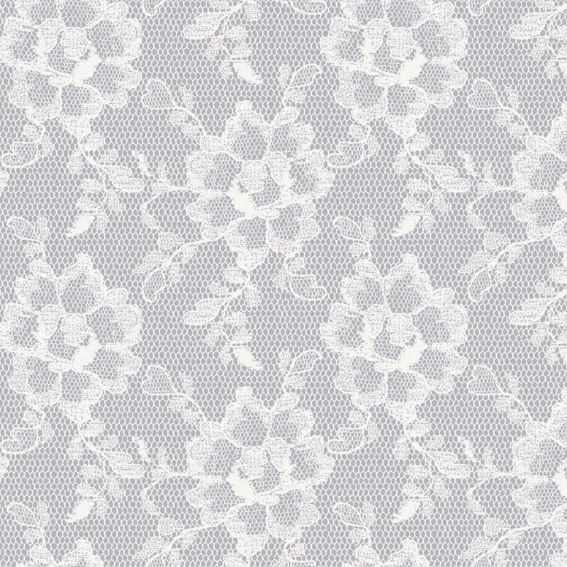 Lace Textured White Chocolate Removable Wallpaper by Tempaper 800x800