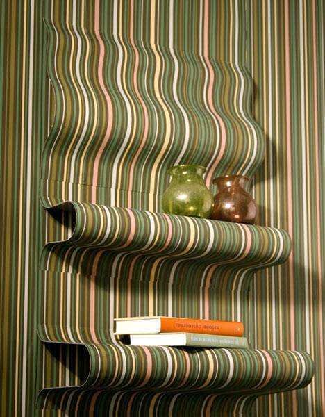Real Life 3D Wallpaper Off the Wall Room Decorating Idea 468x600