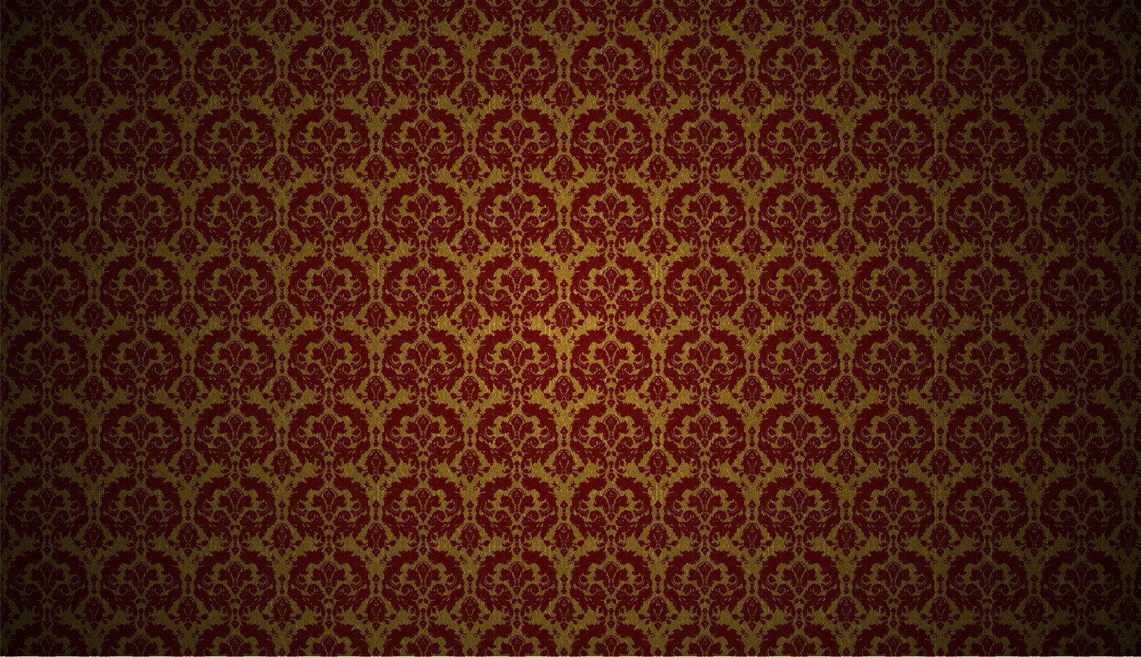 red and gold damask wallpaper by mt schorsch customization wallpaper 1600x921