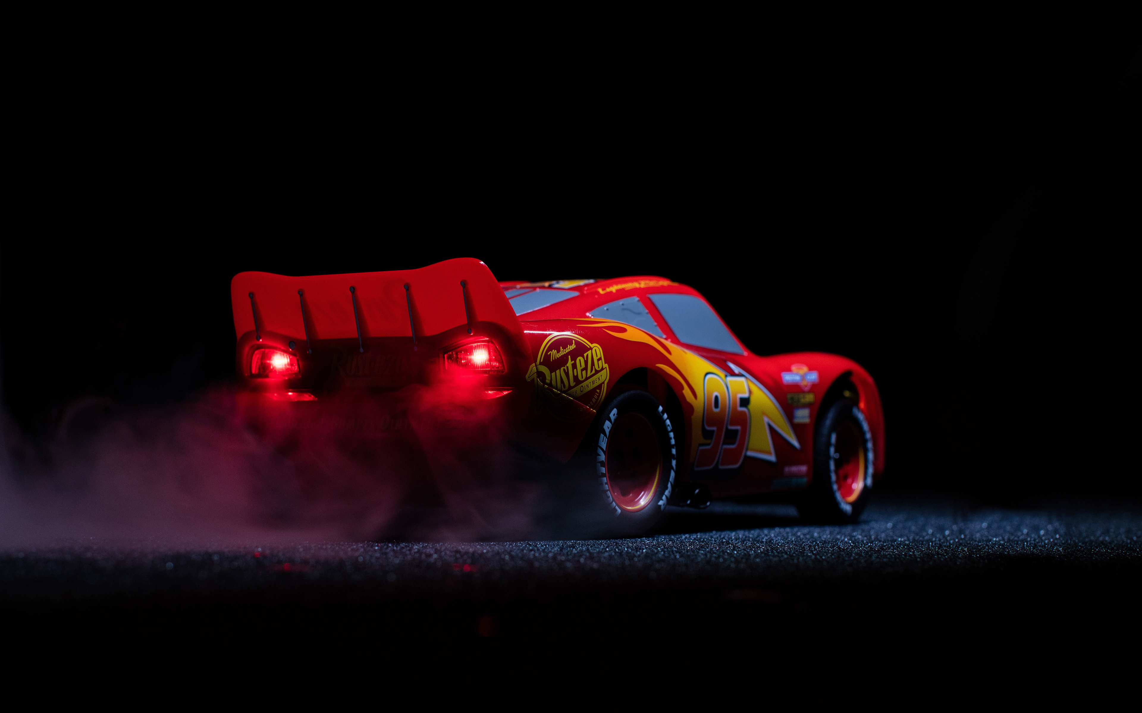 Lightning McQueen Wallpaper Full HD Pictures 3840x2400