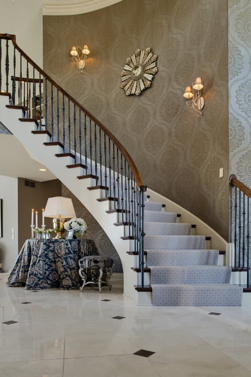 Stairway Wall Decorating Ideas staircase decor