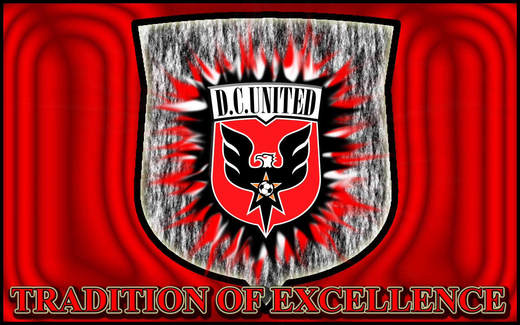 DC United Football Wallpaper 1680x1050