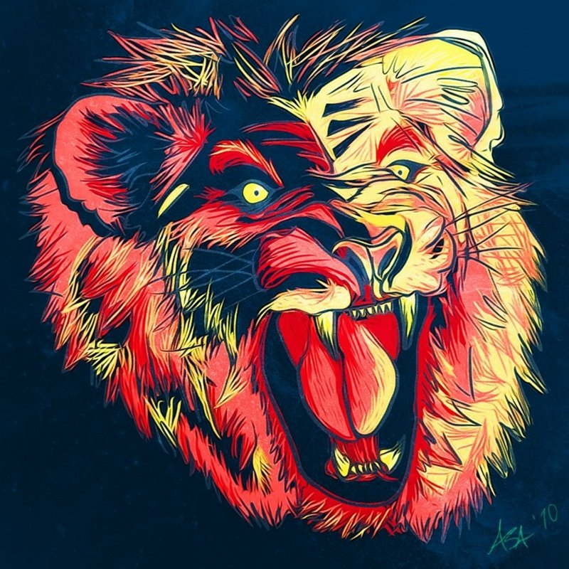Free Download Artisticcreative Artistic Creative Lions