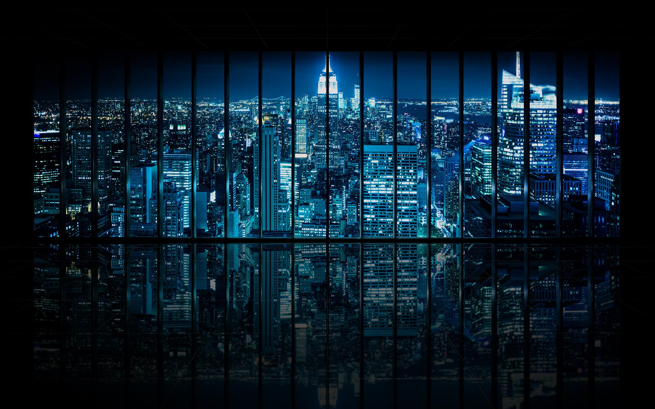 Dominic Kamp Photography Window to Gotham City Empty Dominic 2560x1600