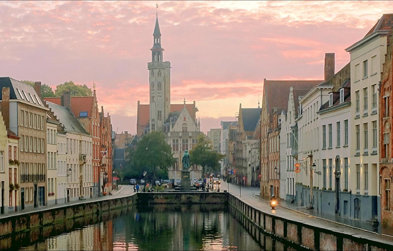 Wallpaper city Brugge Europa metropolis images for desktop 1332x850