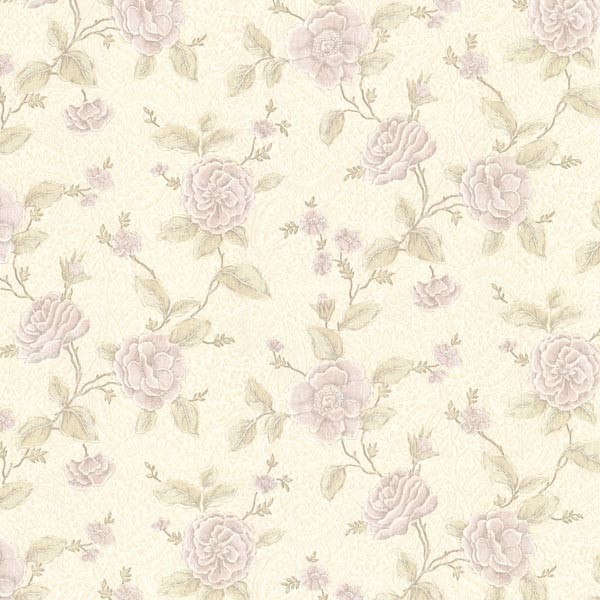 260120824 Brocade Devon Lavender Floral Trail Brewster Wallcovering 600x600
