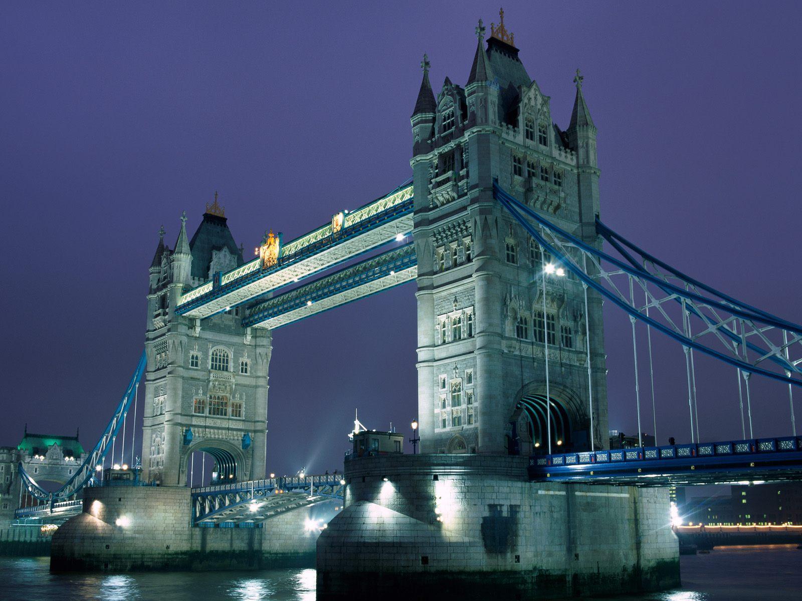 Tower Bridge London Icon Suspension Bridge River Thames 1600x1200