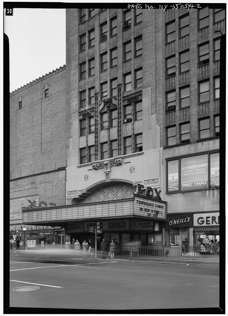 Fox Theatre Demolished Brooklyn New York from 739x1024