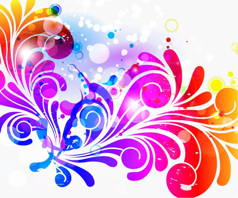 Cool Colorful Backgrounds - WallpaperSafari - photo#3