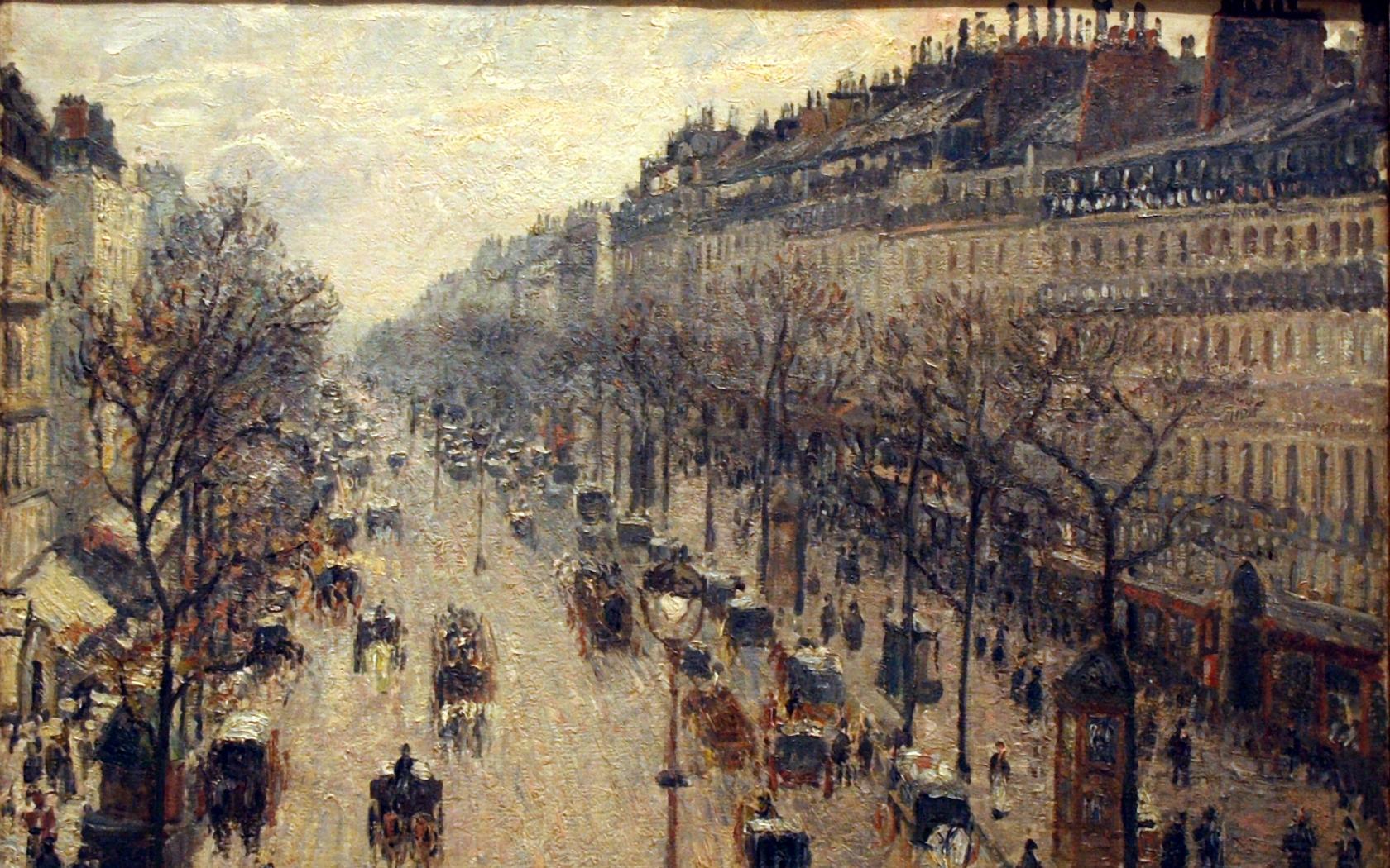 impressionist painting camille pissarro 2038x1596 wallpaper Art HD 1680x1050