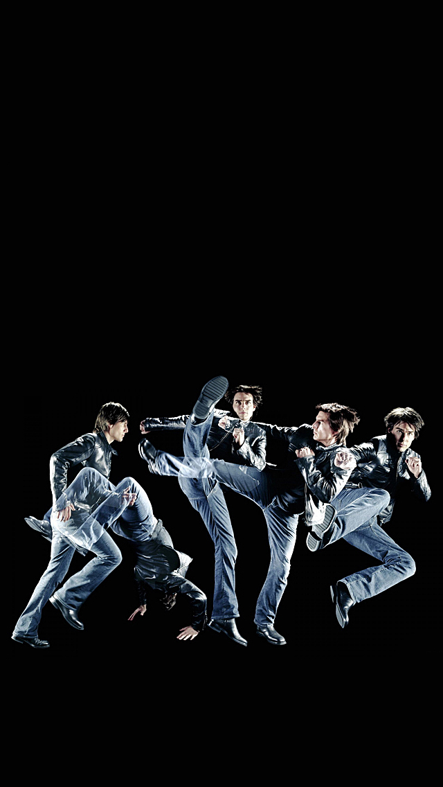 Tom Cruise Going Crazy iPhone 5 Wallpaper 640x1136 640x1136