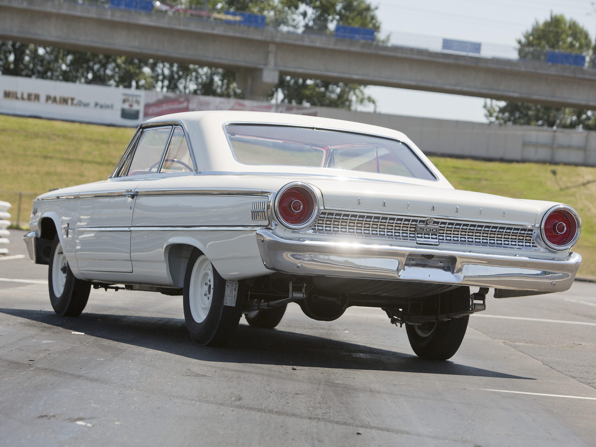 1963 ford galaxie 500 factory lightweight drag racing race muscle